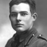 Il giovane soldato Ernest Hemingway sul fronte orientale nel 1914