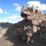 offerte per la Pachamama sulle Ande boliviane