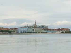 lo skyline della città vecchia di Grado