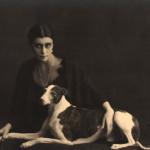 Wanda Wulz, Giovane con levriero (1931)