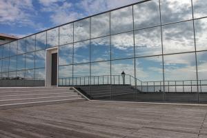 La facciata del Museo del Mare di Grado