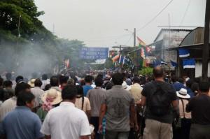 Proteste in Chapare (Bolivia orientale)