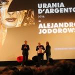 Jodorowsky riceve il premio Urania d'Argento 2014