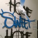 """Home sweet home"". Opera di Davide Comelli. Foto Sabiana Salvador"
