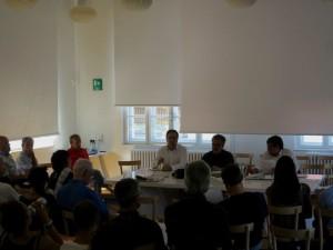 """Un momento della scuola de """"I dialoghi di S. Giovanni"""" 2015"""