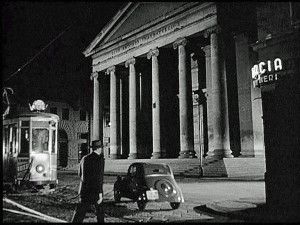 Trieste, chiesa di S. Antonio Nuovo, Corriere diplomatico (@foto Cineteca di Gemona)