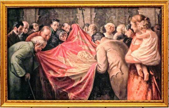 Il Bacio di Perasto al Gonfalone di San Marco in un dipinto di G. Lallich