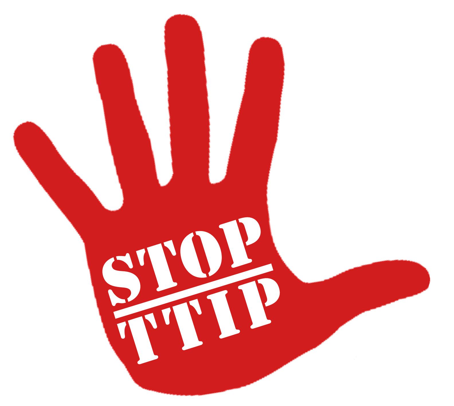 Risultati immagini per stop ttip