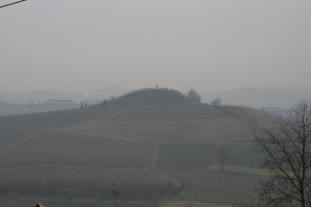 Langhe, La Morra - Inverno nebbioso- Foto L. Monasta