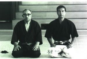 I Mochizuki, padre e figlio, in una foto di qualche decennio fa