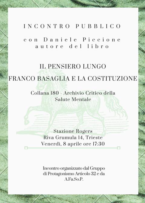 Incontro con Daniele Piccione