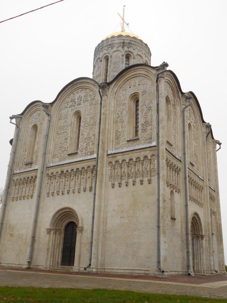 Foto di G. Prandini. La cattedrale di San Demetrio a Vladìmir