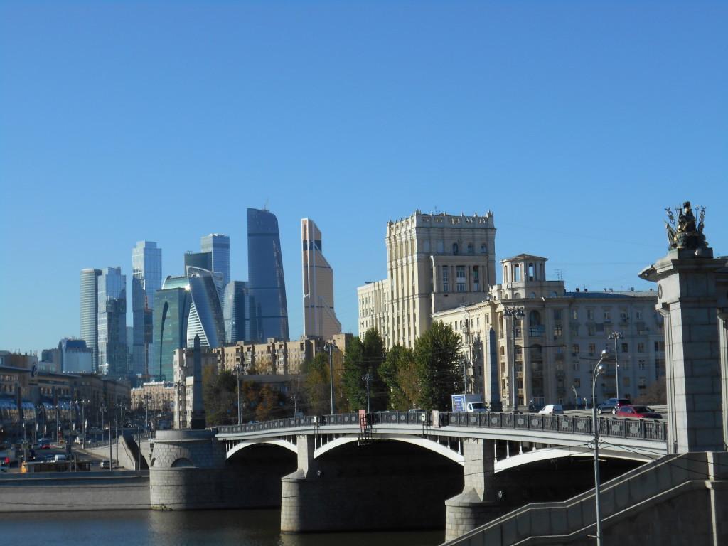 Foto di G. Prandini. I grattacieli high tech di Mosca