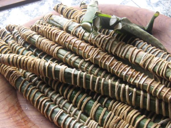 Batons de manioc